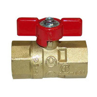 All Points 52-1049 Gas Ball / Shut-Off Valve; 3/4 inch Gas In / Out