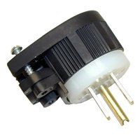 All Points 38-1269 Angle Plug; NEMA 5-15P