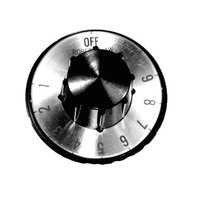 All Points 22-1002 2 inch Thermostat Dial (Off, 1-10)
