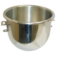 Hobart 00-275683 Equivalent Classic 20 Qt. Stainless Steel Mixing Bowl