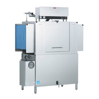 Jackson AJX-80 Vision Conveyor Low Temperature Dishwasher - Right to Left, 208V, 3 Phase