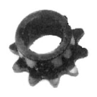 Nieco 6102 Equivalent Gear Motor Sprocket - 10 Teeth, 5/8 inch Bore