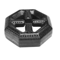 All Points 24-1043 5 3/4 inch Octagonal Cast Iron Range Burner Head