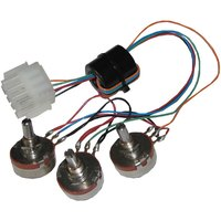 All Points 42-1566 Set of 3 Potentiometers with Wiring Harness
