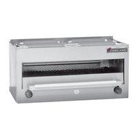 Garland MSRC Master Series Liquid Propane 34 inch Countertop Infra-Red Salamander Broiler - 28,000 BTU