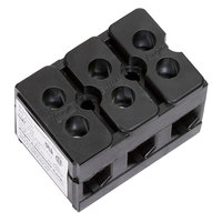 All Points 38-1127 3 Pole 85 Amp Terminal Block - 600V