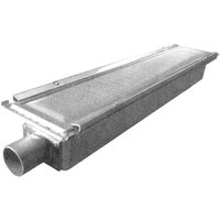 Nieco 8420 Equivalent 24 inch x 5 1/8 inch Infrared Burner with Reverberator Screen