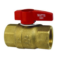 All Points 52-1050 Gas Ball / Shut-Off Valve; 1 inch Gas In / Out