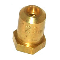 All Points 26-1089 Brass Hood Orifice; #29; 3/8 inch-27 Thread; 1/2 inch