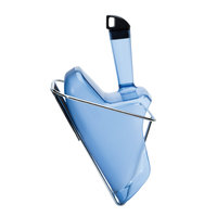 Rubbermaid 9F51 2.3 Qt. Ice Scoop with Holder (FG9F5100TBLUE)