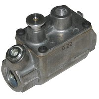 All Points 54-1125 Gas Pilot Safety Valve; Natural Gas / Liquid Propane; 3/8 inch Gas In / Out; 1/8 inch Pilot Out
