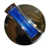 All Points 22-1573 2 3/8 inch Chrome Range Burner Valve Knob (Off-On)