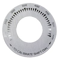 All Points 22-1410 3 inch Griddle Dial Plate (200-550)