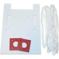 All Points 28-1145 Burner Insulation Kit for Dual Vat Fryer