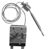 All Points 46-1505 Thermostat; Type EGO; Temperature 200 - 400 Degrees Fahrenheit; 30 inch Capillary