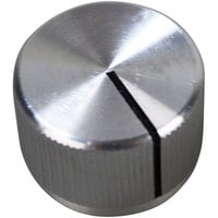 Southbend 1189754 Equivalent 15/16 inch Silver Oven Knob with Black Pointer