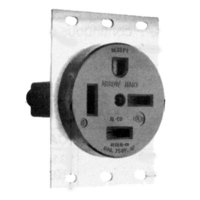 All Points 38-1282 Single Receptacle; NEMA 15-60R (3 Phase)