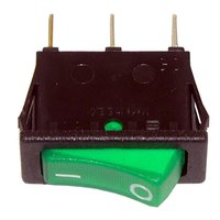 All Points 42-1420 On/Off Lighted Rocker Switch - 20A/125V