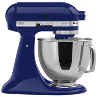 KitchenAid KSM150PSBU Cobalt Blue Artisan Series 5 Qt. Countertop Mixer