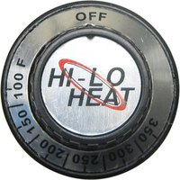 All Points 22-1068 1 7/8 inch Oven Thermostat Dial (Off, 100-350)