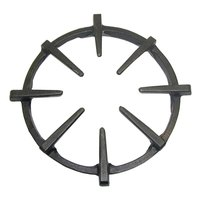 All Points 24-1035 9 1/4 inch Cast Iron Spider Grate