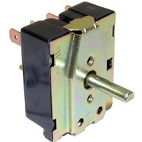 All Points 42-1377 On/Off 3-Heat Rotary Control Switch - 20A, 120-240V