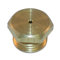 All Points 26-1781 Brass Burner Orifice; #56; Natural Gas; 7/16 inch-27 Thread