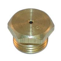 All Points 26-1781 Brass Burner Orifice; #56; Natural Gas; 7/16 inch-27 Thread