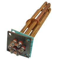 All Points 34-1159 Steamer Element with Well; 208V; 5000W; 2 1/4 inch Bolt Hole Centers