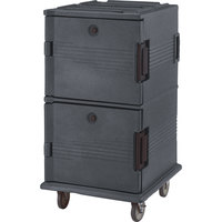 Cambro UPC1600191 Granite Gray Camcart Ultra Pan Carrier - Front Load