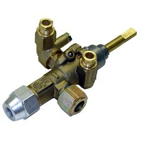 All Points 54-1102 1/4 inch CCT Gas Valve for Hot Top