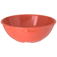 Carlisle 4352152 Dallas Ware 14 oz. Sunset Orange Nappie Bowl - 48/Case