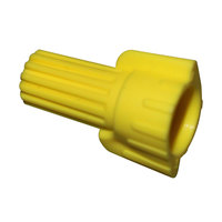 All Points 85-1050 Yellow Wing Type Wire Connectors - 100/Pack