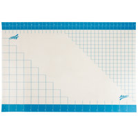 Ateco 698 36 inch x 24 inch Non-Stick Silicone Fondant Mat with Grid Measurements
