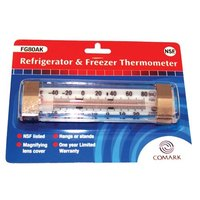 All Points 62-1104 Refrigerator / Freezer Thermometer; -40 to 80 Degrees Fahrenheit