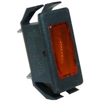 All Points 38-1146 Signal Light; 1/2 inch x 1-1/8 Amber; 125 / 250V