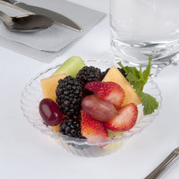 Fineline Flairware Clear 205-CL 5 oz. Plastic Bowl - 180/Case