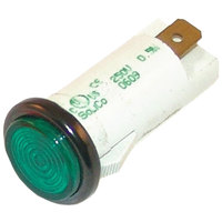 All Points 38-1120 Signal Light; 1/2 inch; Green 250V