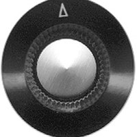 All Points 22-1064 1 1/8 inch Oven / Toaster Speed Control Knob with Pointer