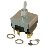 All Points 42-1709 On/Off Toggle Switch - 17A-277/125V