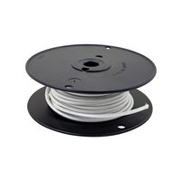 All Points 38-1265 High Temperature Wire; #14 Gauge; Stranded SRGN; White; 50' Roll
