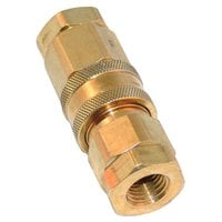 Dormont 9850-1212 Equivalent Quick Disconnect; 1/4 inch FPT; Water / Steam