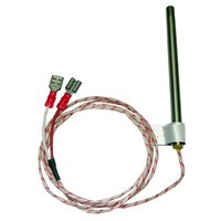 All Points 44-1280 Temperature Probe; 4 inch; 40 inch Wire Leads
