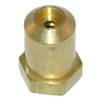All Points 26-1103 Brass Hood Orifice; #43; 3/8 inch-27 Thread; 1/2 inch