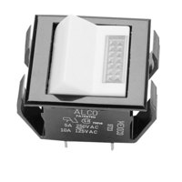 All Points 42-1322 On/Off Lighted Rocker Switch - 10A/125V, 5A/250V