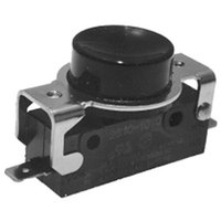 All Points 42-1682 Momentary On/Off Black Push Button Switch