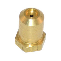 All Points 26-1112 Brass Hood Orifice; #52; Liquid Propane; 3/8 inch-27 Thread; 1/2