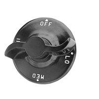 All Points 22-1250 2 1/4 inch Broiler / Hotplate / Oven Knob (Off, Lo, Med, Hi)