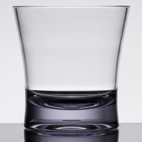 Carlisle 561207 Alibi 12 oz. SAN Plastic Double Old Fashioned Glass - 24/Case