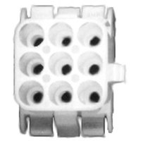 All Points 26-3630 Female Connector - 9 Pin